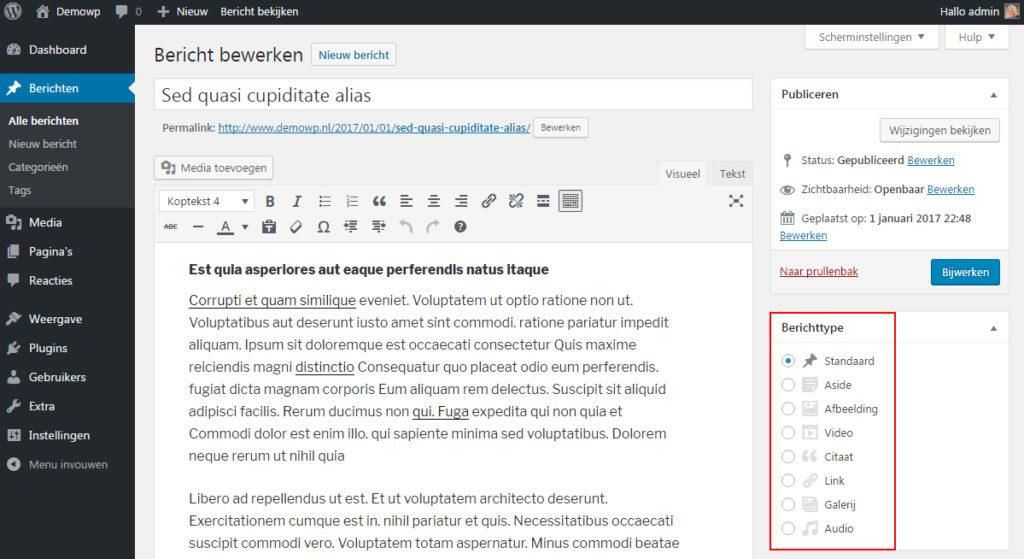 voeg-toe-berichtenformaat-wordpress-handleiding