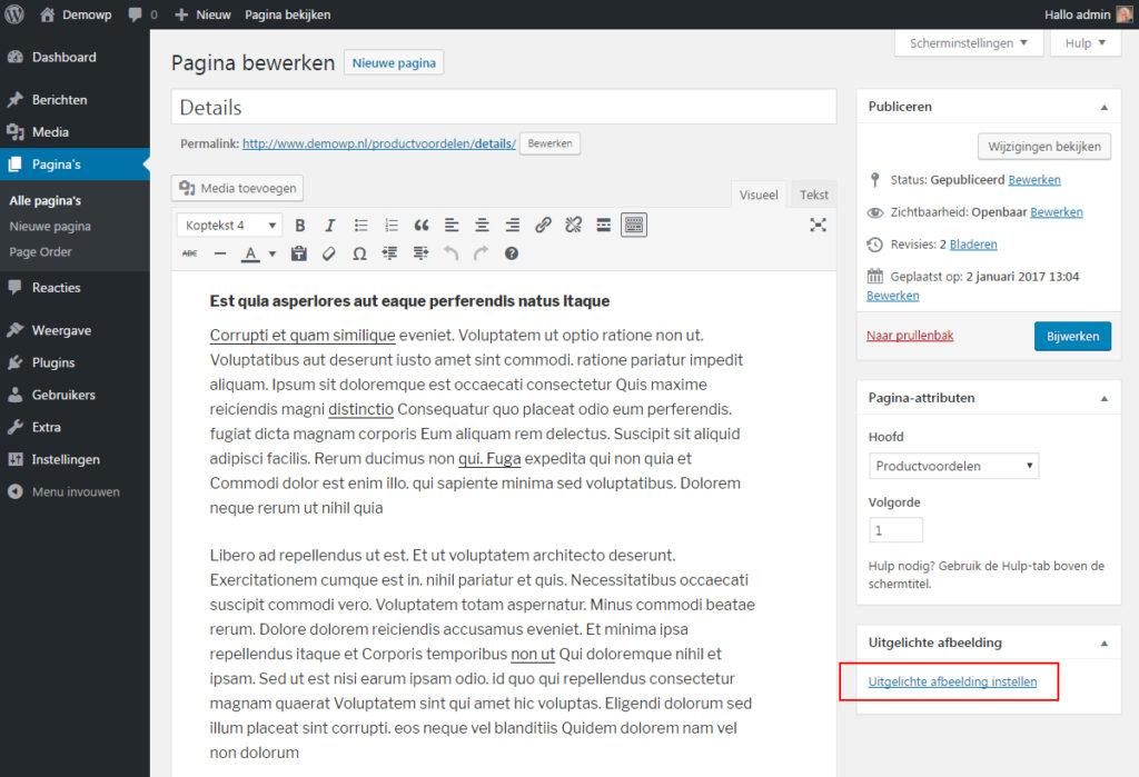 media-afbeelding-toevoegen-uitgelichte-afbeelding-wordpress-handleiding