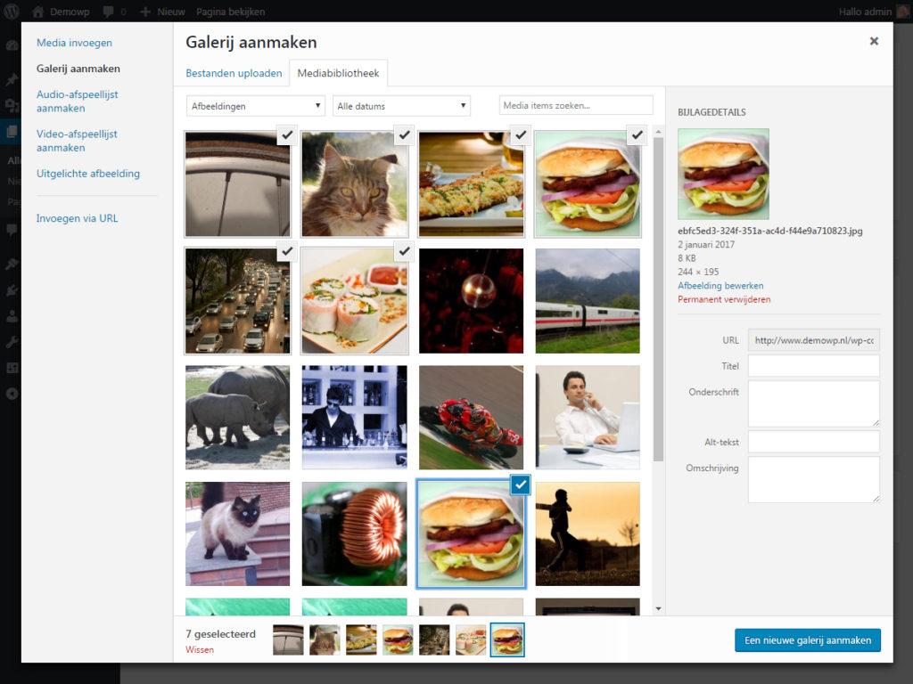 media-afbeelding-toevoegen-galerij-wordpress-handleiding