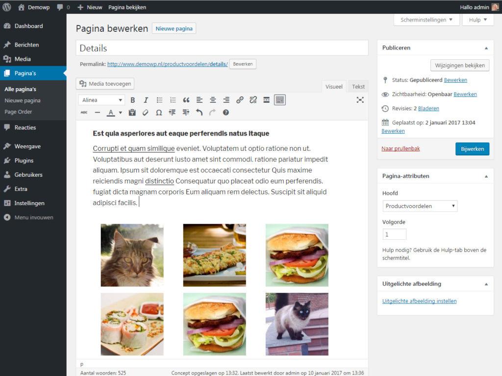 media-afbeelding-toevoegen-galerij-bewerken-verwijderen-wordpress-handleiding