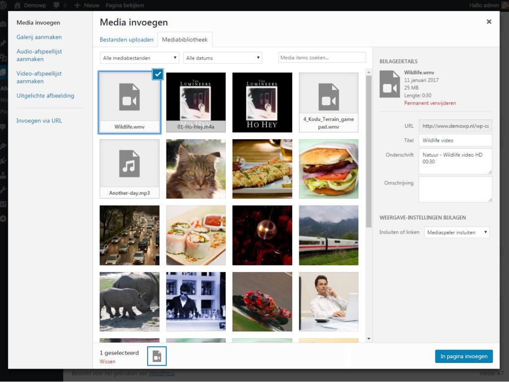media-afbeelding-toevoegen-audio-video-wordpress-handleiding