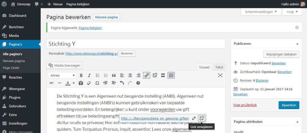 html-links-toevoegen-verwijderen-wordpress-handleiding