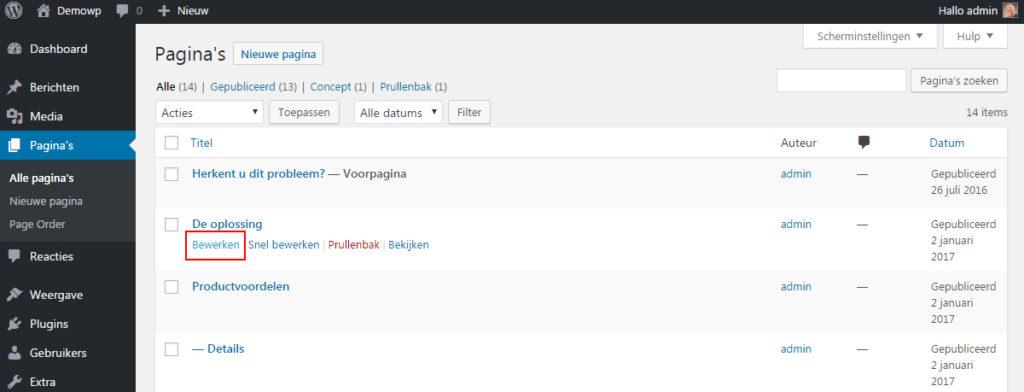 bestaande-content-inhoud-bewerken-wordpress-handleiding