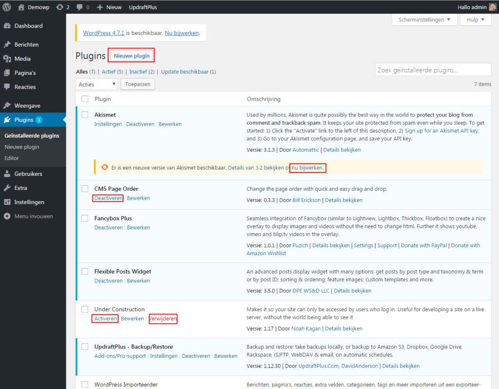 weergave-plugins-wordpress-handleiding