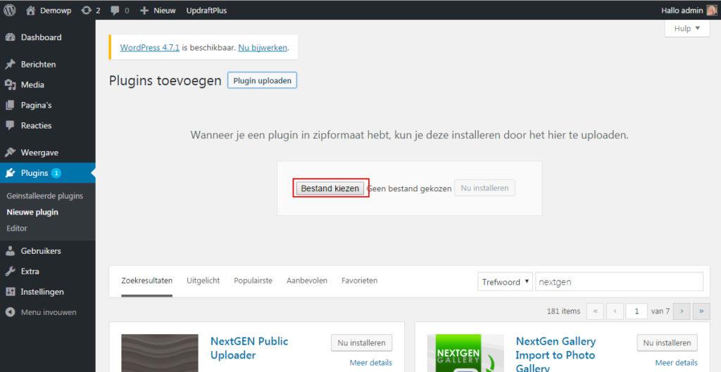 weergave-plugins-toevoegen-wordpress-handleiding