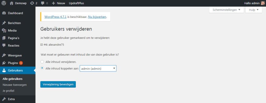 gebruikers-verwijderen-wordpress-handleiding