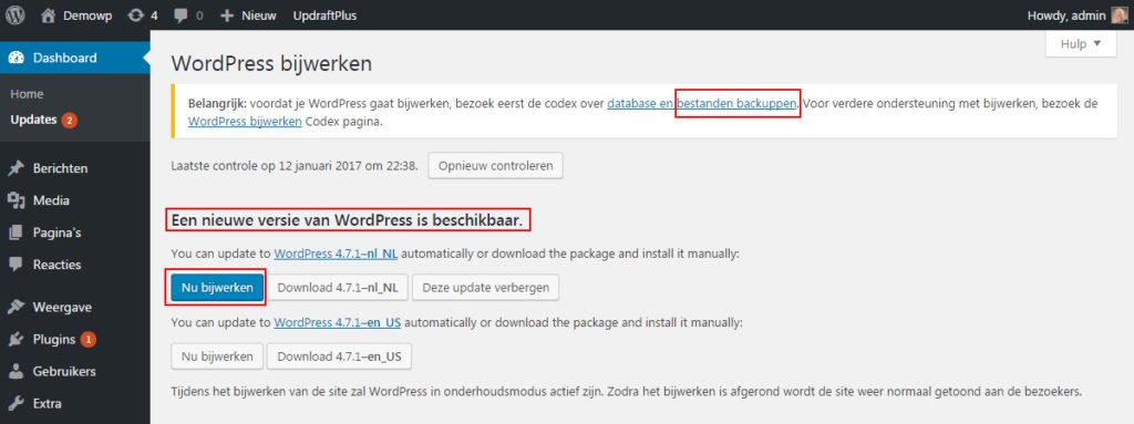 site-up-to-date-wordpress-handleiding