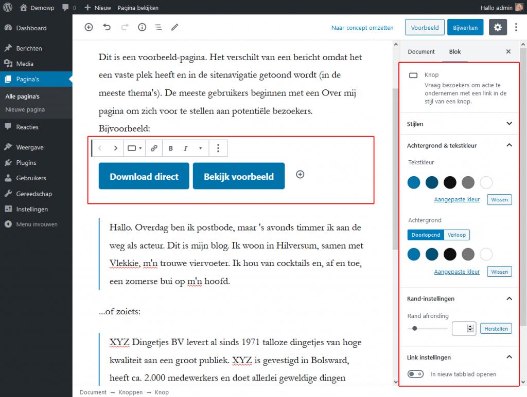 5_4_1_Layoutblokken-knoppen-blok-wordpress-beginnershandleiding
