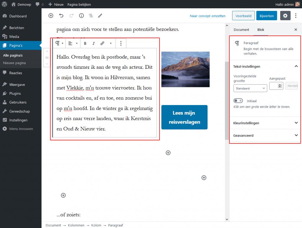 5_4_1_Layoutblokken-kolommen-blok2-wordpress-beginnershandleiding