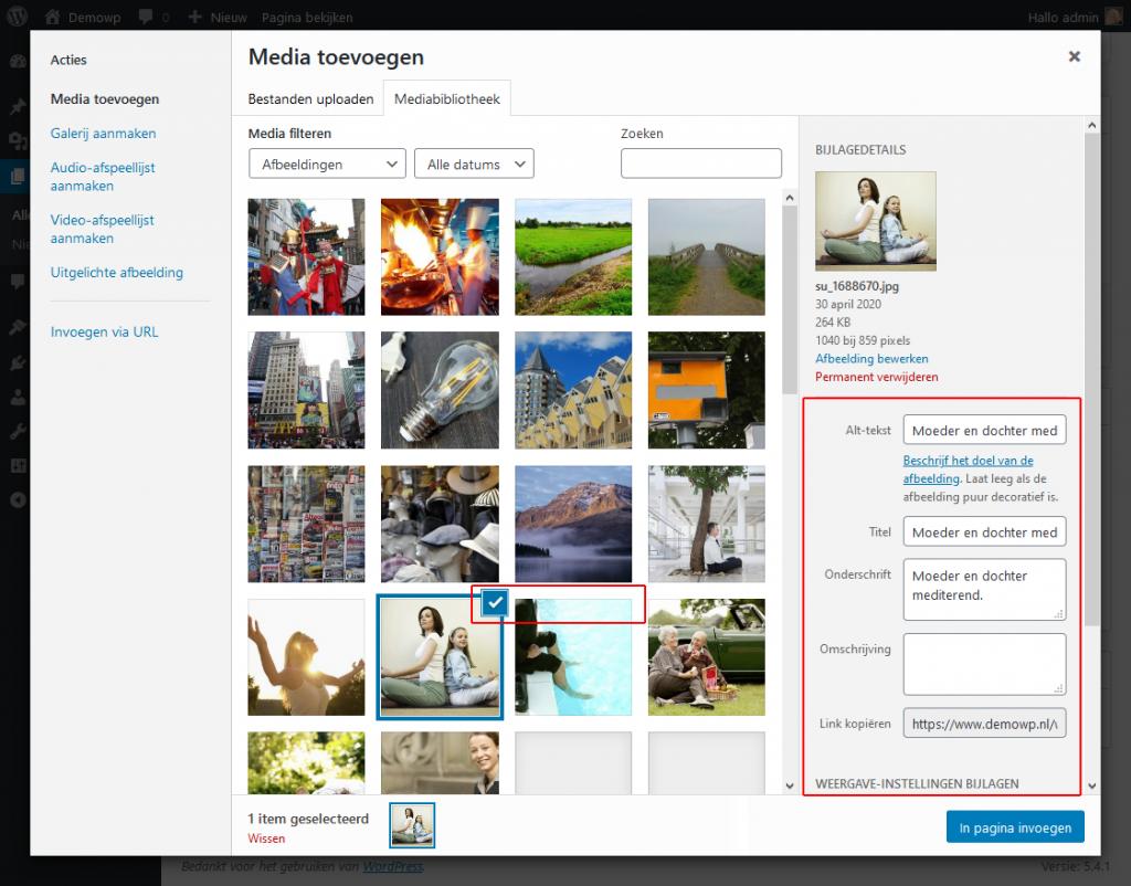 5_4_1_klassieke-editor-medi-toevoegen-afbeelding-toevoegen-wordpress-beginnershandleiding